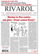 Rivarol n°3146 version numérique (PDF)