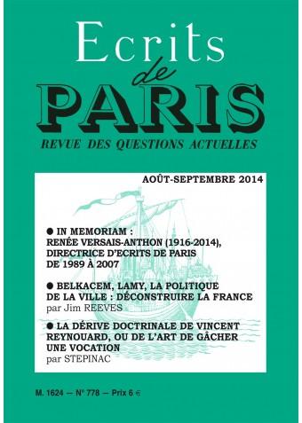 Août-septembre 2014 (PDF) version numérique