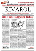 Rivarol n°3156 version numérique (PDF)