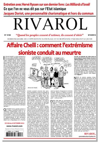 Rivarol n°3158 version numérique (PDF)
