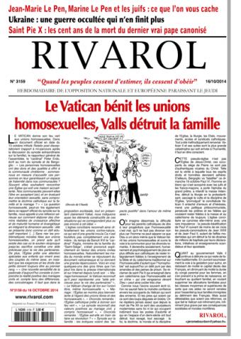 Rivarol n°3159 version numérique (PDF)