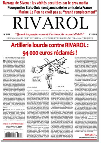 Rivarol n°3162 version numérique (PDF)