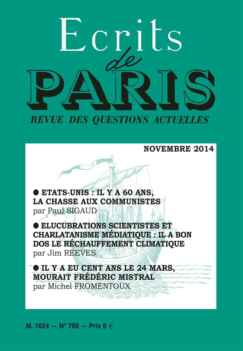 Novembre 2014 (PDF) version numérique