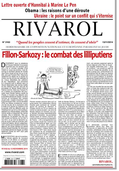 Rivarol n°3163 version numérique (PDF)
