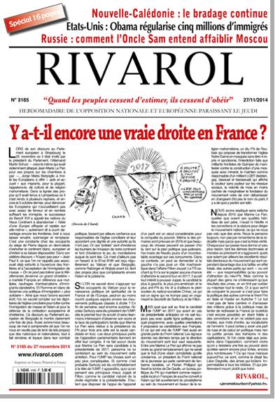 Rivarol n°3164 version numérique (PDF)