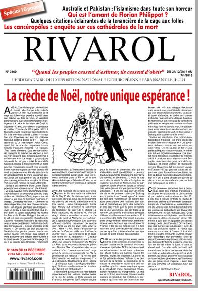 Rivarol n°3169 version numérique (PDF)