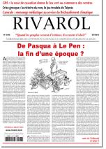 Rivarol n°3196 version numérique (PDF)