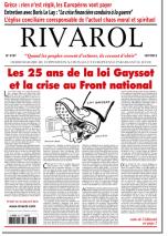 Rivarol n°3197 version numérique (PDF)