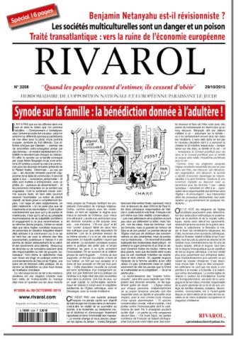 Rivarol n°3208 version numérique (PDF)