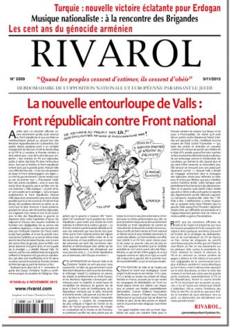 Rivarol n°3209 version numérique (PDF)