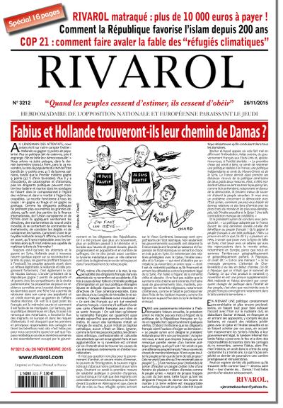Rivarol n°3212 version numérique (PDF)