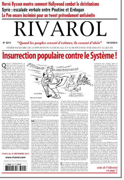 Rivarol n°3214 version numérique (PDF)